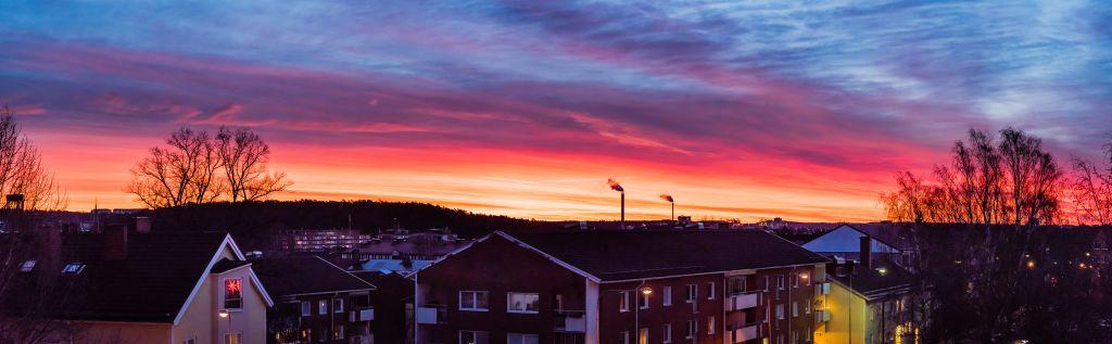 Södertälje soluppgång